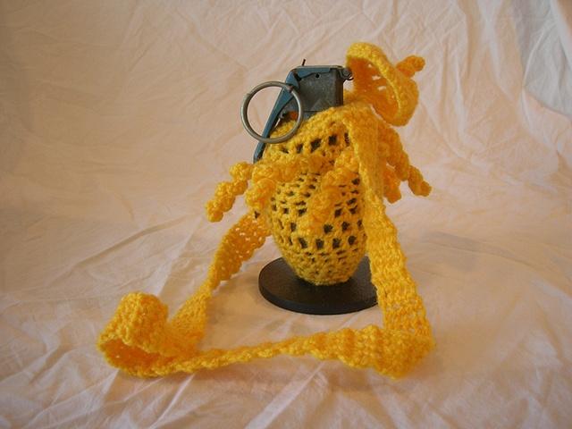 yarn and grenade