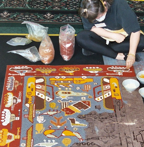 Making a War Rug