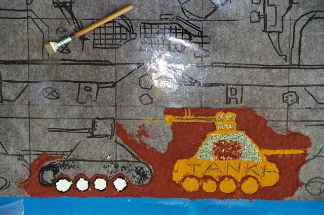 Tank detail