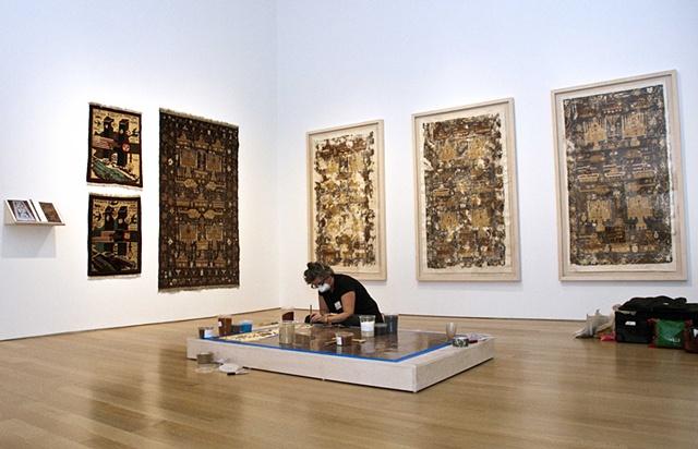 Spice War Rug, installation, Grand Rapids Art Museum, 9/11, art, Art Prize