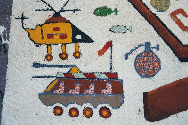 Detail, Helicopter, Tank and Grenade