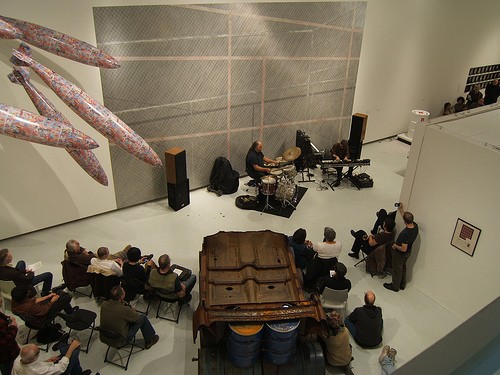 Installation view, Concert for Malachi