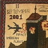 9/11 War Rug from 2001