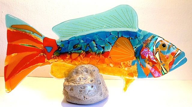 """Sunset"" large grouper..."