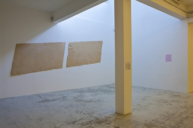 Beirut Art Center Square Meter Installation view