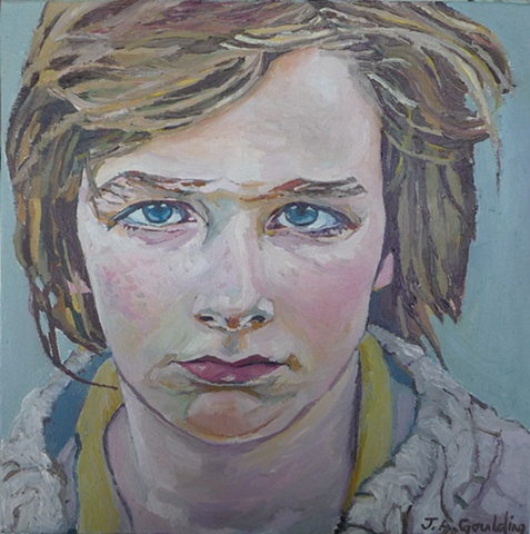 Julie Goulding oil paintings Beautiful Boy