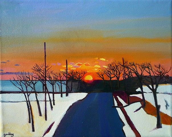 landscapes. winter landscapes. sunsets.nature scenes.impressionism.stylised landscape.travel.classical.surrealism