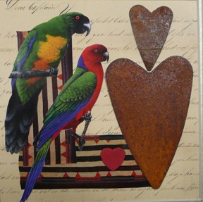 bird and heart