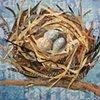 Fargo Eggs in a Nest