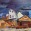 collage landscapes & buildings