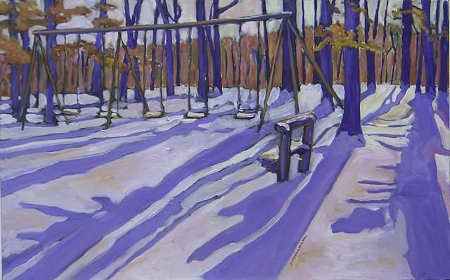 Oak Grove with Swings