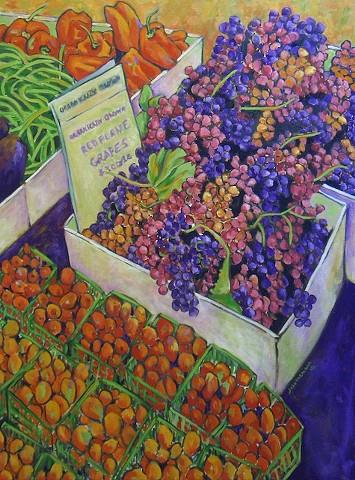 Farmers Market Grapes
