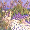 Dunes at Isle of Palms, SC-Lavender Sky
