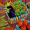 Eggplants, Big Boys & Peppers