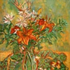 Tiger Lilies in Vase