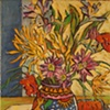 Mexican Wedding Vase with Sun