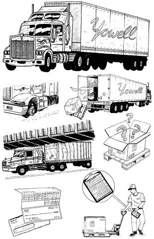 Yowell Transportation Services, Inc. - Driver's Manual Illustrations