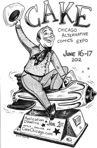 Chicago Alternative Comics Expo (CAKE) - Flyer