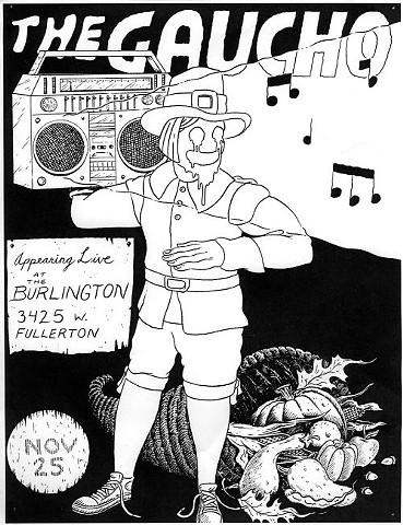 The Gaucho - Flyer