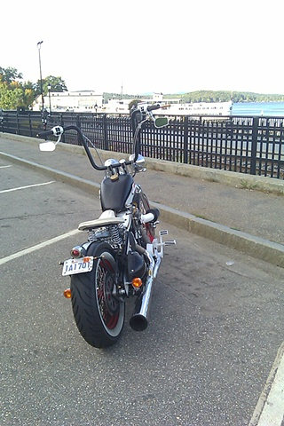 The bobber up at Weirs Beach, while scoping out possible retail space for Laconia 2011