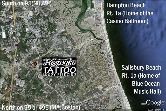 Seacoast Map