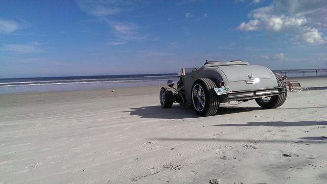 Daytona Beach arrival, Dec 2013
