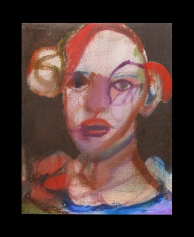UNTITLED (HEAD OF WOMAN 2007)