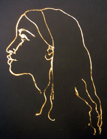 GIRL IN GOLD