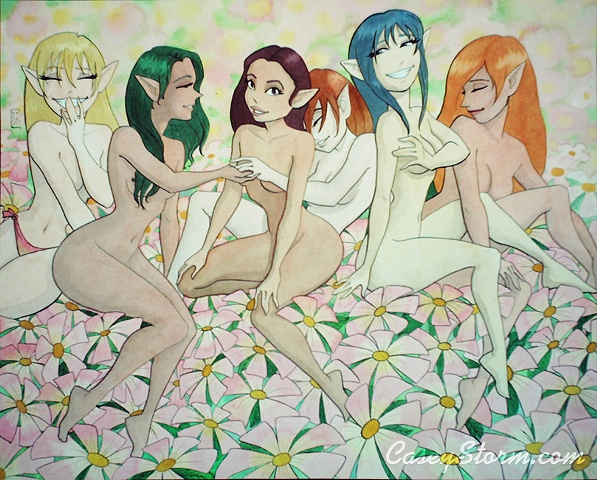 Naked Elves, the most beautiful thing in nature