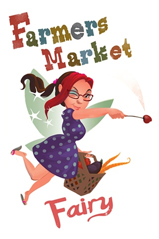 Farmers Market Fairy, Linda Mark