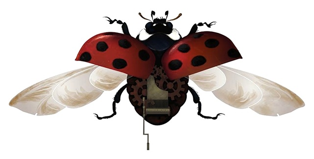Ladybug with Music Box