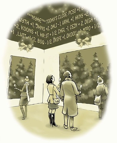 Holiday Cartoon, Bilton Arts, Inc
