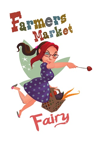 Logo, Farmers Market Fairy