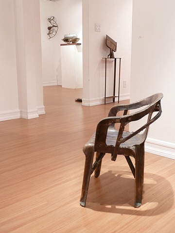 "Installation view  ""sculpture customs"""