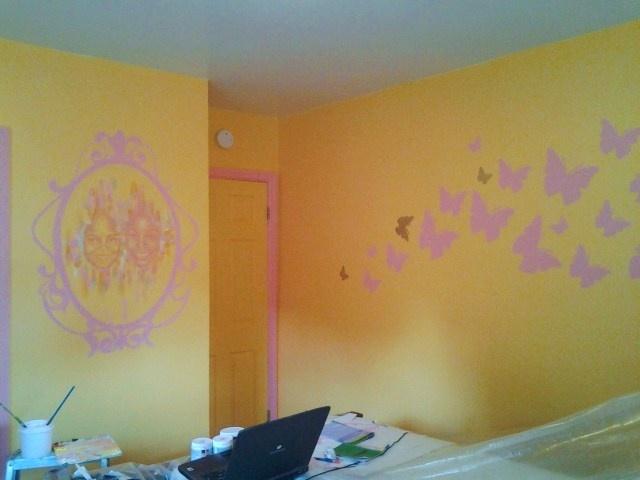 Girls' Room (in progress shot)