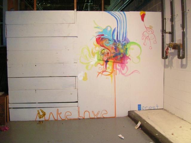 Make Love (first mural)