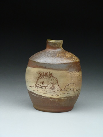 Sea Monster Jug