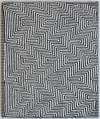 Untitled (zigzags)