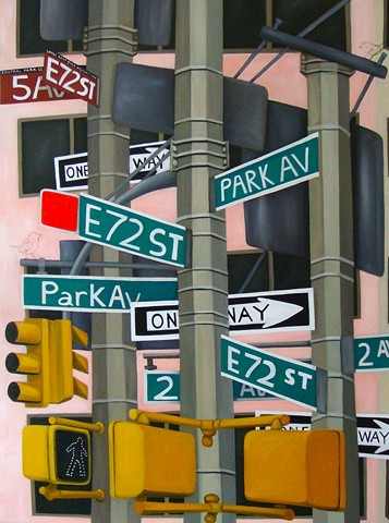 Signs, NYC, City Scape, Signage