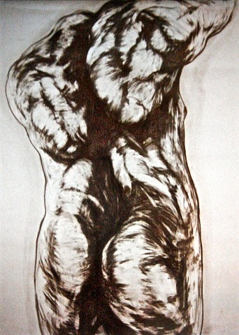 Human Body, Tension, Torsion, Human Figure, Drawing