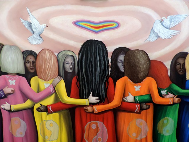 FEMME - Women Healing The World (detail)