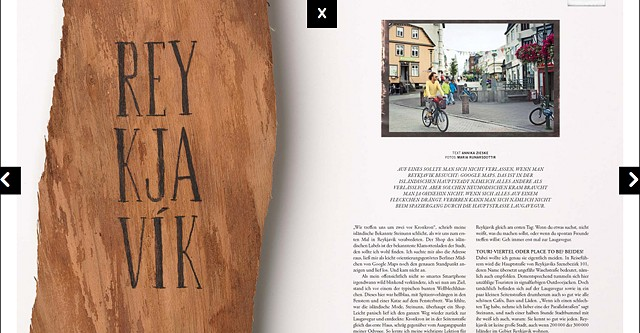Cut Magazine  Photostory about Reykjavik, Street style and Portraits Scans coming soon