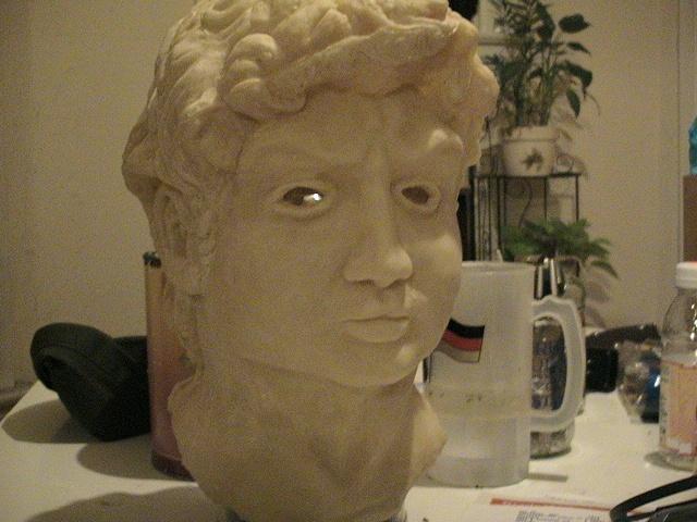 Jeffery Driskill  David Mask (unpainted latex cast)