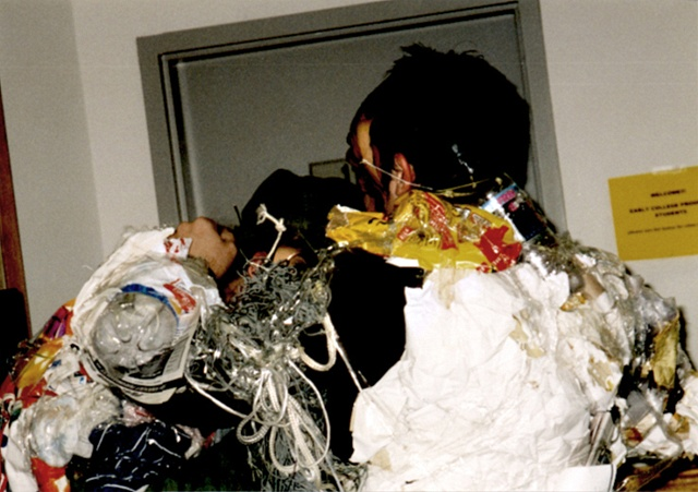 """Monkey Act: Jeffery Driskill & Paul W. Perkins Gallery X (The School of the Art Institute Of Chicago) (Wrap up""""00)"""