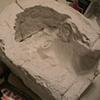 Jeffery Driskill David Mask (plaster mold)