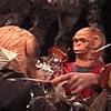 "Monkey Act: Jeffery Driskill & Paul W. Perkins  Cage warp up ""02"