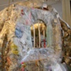 Monkey Act: Jeffery Driskill & Paul W. Perkins  Cage (Back View) Gallery 2 (The School of the Art Institute Of Chicago)