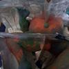 Jeffery Driskill Seven Billionth (clay divided for plaster prep)