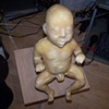 Jeffery Driskill Seven Billionth Baby cleaned up unpainted (trimmed mold lines)