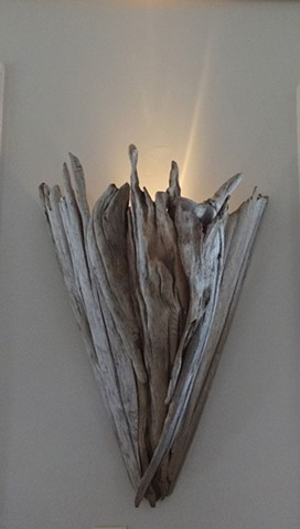 Driftwood lighting/sconce
